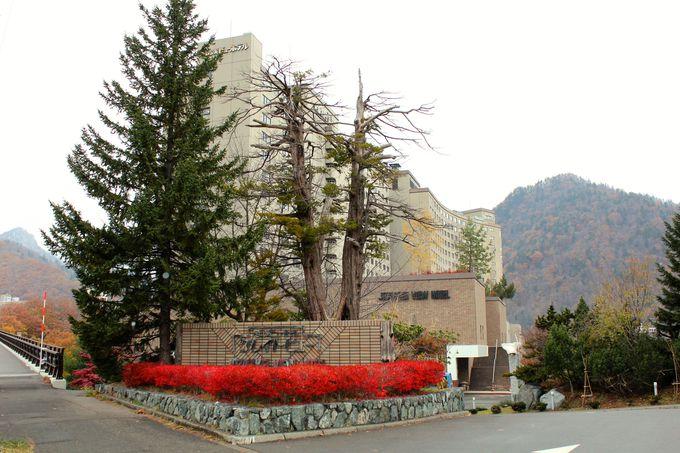 「定山渓ビューホテル」は定山渓で最も大きな温泉ホテル!