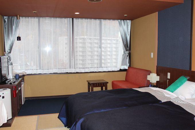 住むように滞在できる「瑠璃の館・和ツイン」の客室!