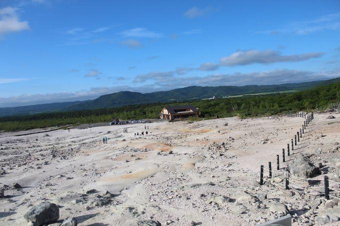 かつては硫黄採掘量が全道一であった事も!