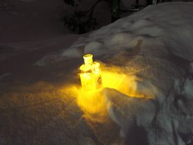 ウイスキーのキャンドルが灯る!余市ゆき物語&ナイトツアー