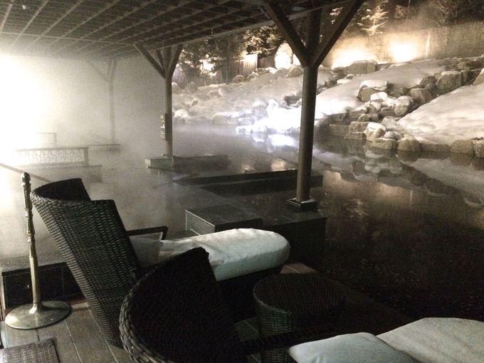 第一ホテル自慢の温泉大浴場と露天風呂!