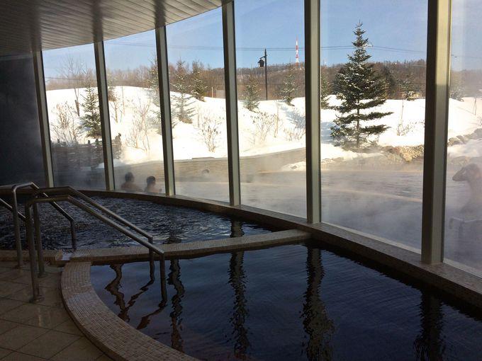 水着で入る混浴「モール温泉」を家族で楽しもう!