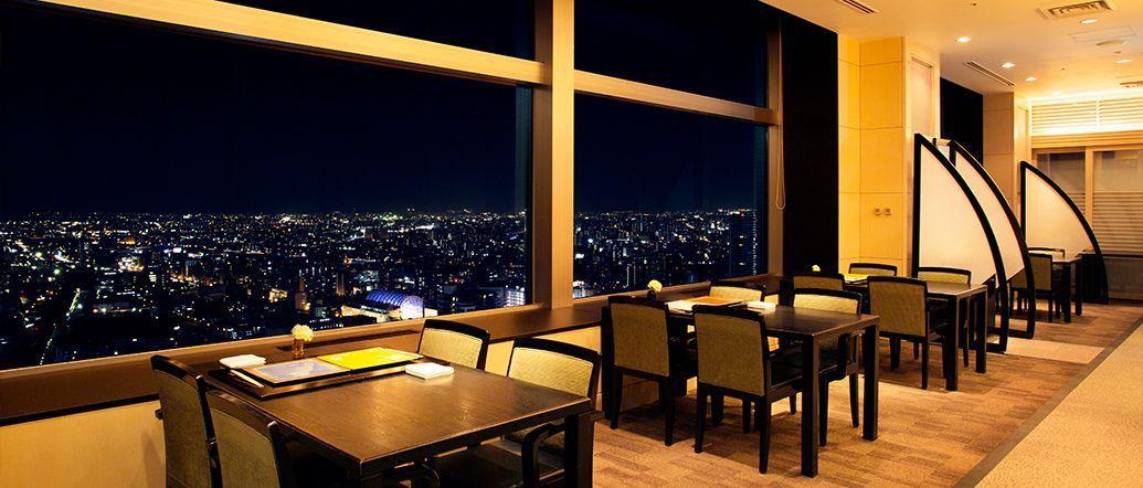 スカイレストラン「丹頂」からの景色