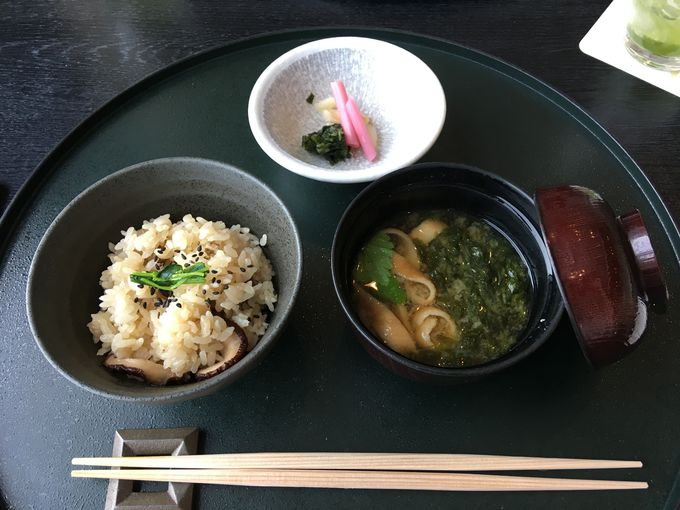 「ランチ会席」蓋物とお食事!