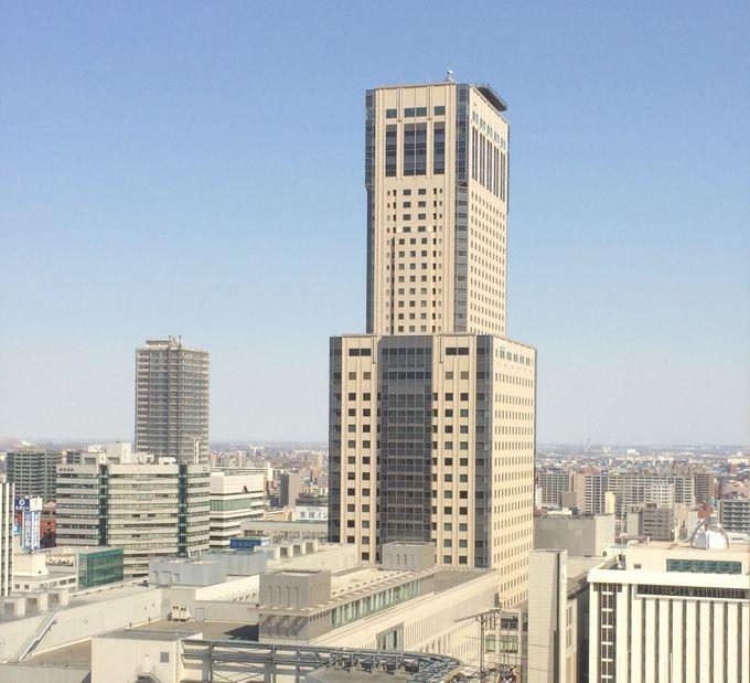 スカイレストラン「丹頂」はJRタワーの35階!