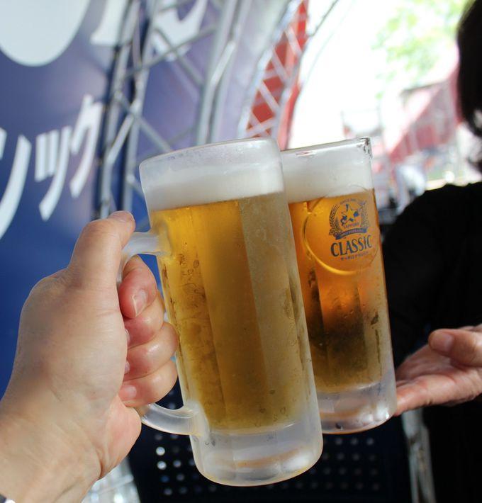 全国でもここでしか飲めない・サッポロクラシック「夏の爽快」生ビール!
