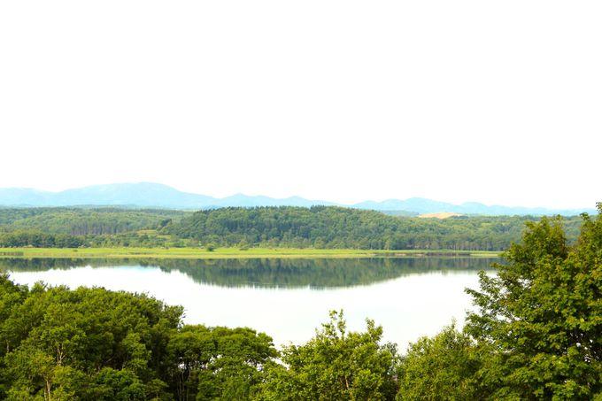 時間毎に変わる「クッチャロ湖」の景色が素晴らしい!