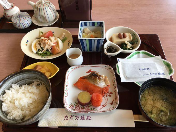 日本料理「なだ万」で朝食をいただいてみよう!