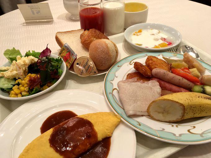 体にやさしい「朝食バイキング」