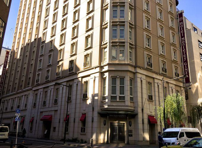 銀座に佇むクラシカルホテル「ホテルモントレ銀座」