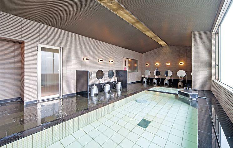 大浴場でゆっくり入浴