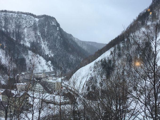 客室からの景色が素晴らしい「ホテル大雪」