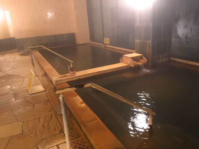 大浴場と展望風呂
