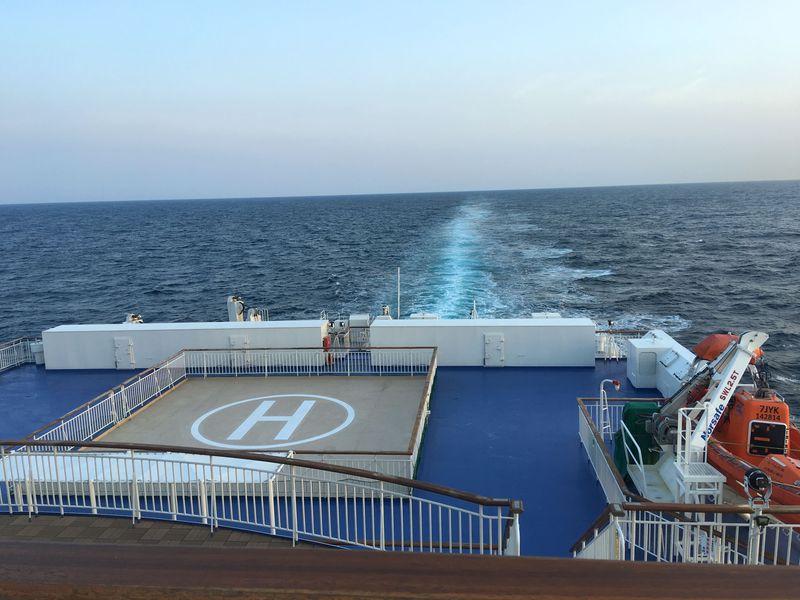 新日本海フェリー「らべんだあ」新潟〜小樽で楽しむ船の旅&グルメ
