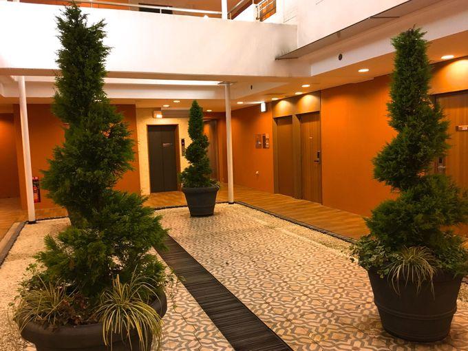 各階フロアーはマンションのような雰囲気