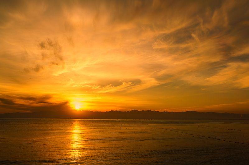 富山湾ビュー!運が良ければ絶景が