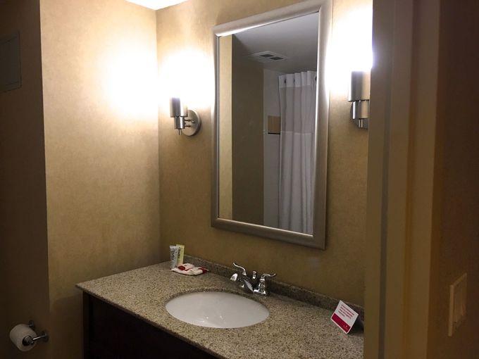広々としたトイレ付き浴室