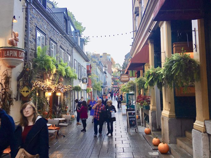 プチ・フランスの街並み