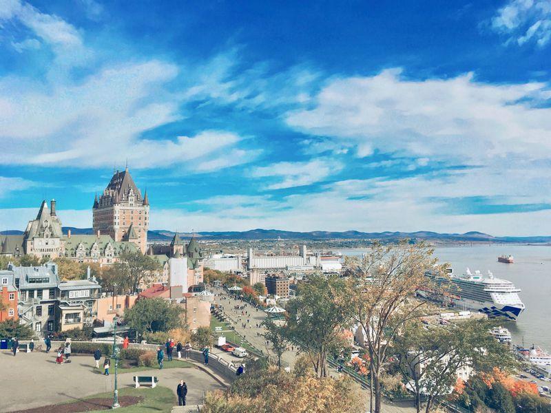プチ・フランスの街を観光!世界遺産「ケベックシティ旧市街」
