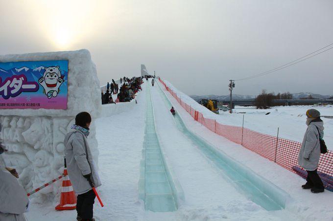ギネスに登録の大雪像も!「旭川冬まつり」