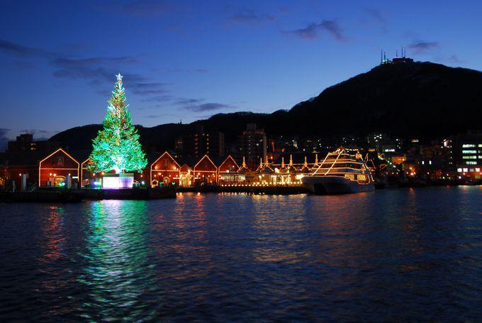 はこだてクリスマスファンタジーとイルミネーション