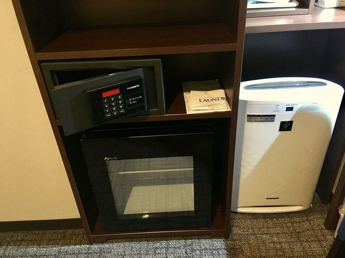 充実の客室設備