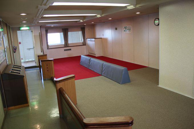 客室1階「2等室」とはどんな場所?