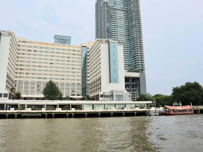 「ラマダ プラザ メナム リバーサイドホテル」はチャオプラヤー川沿いに