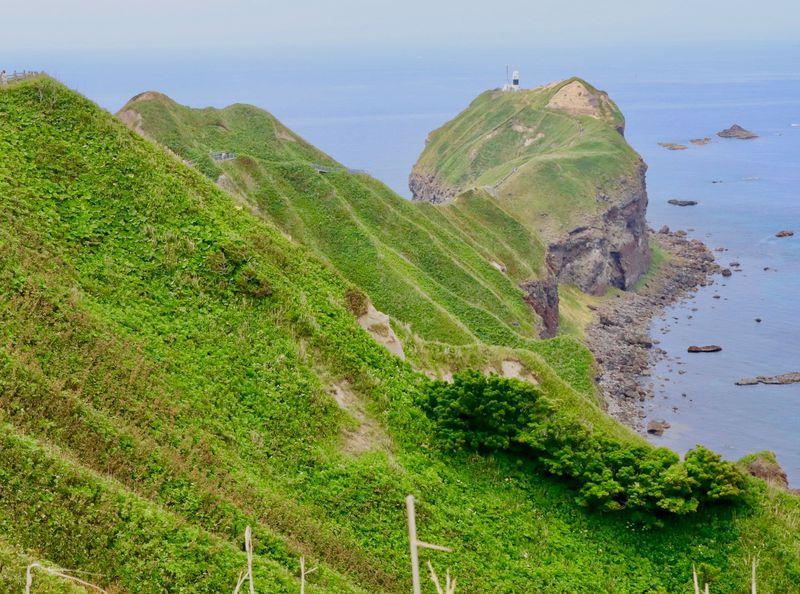 神威岬の絶景を眺めてみよう!