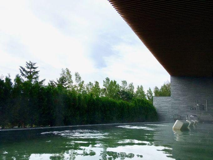 2019年7月オープンした「ルスツ温泉・・ことぶきの湯」