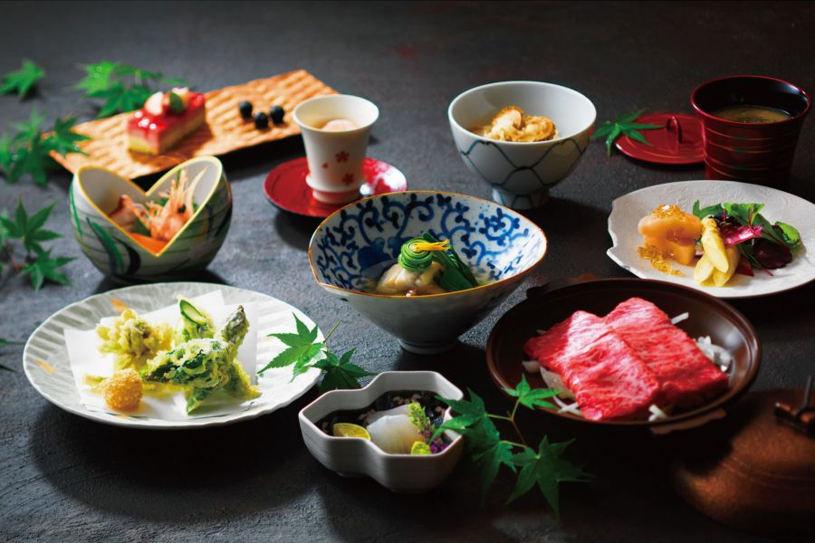 北海道の地元食材にこだわったお食事も!