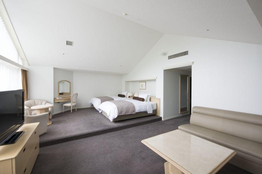 ホテル&コンベンションの多彩な客室!