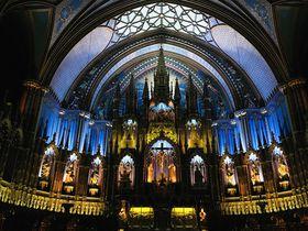 観光では外せない!「モントリオール・ノートルダム大聖堂」