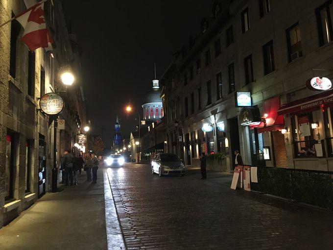 モントリオール旧市街を散策しよう