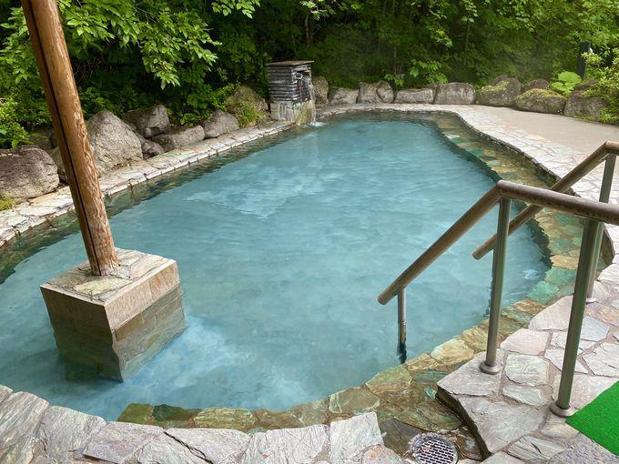 露天風呂のある大浴場とは!