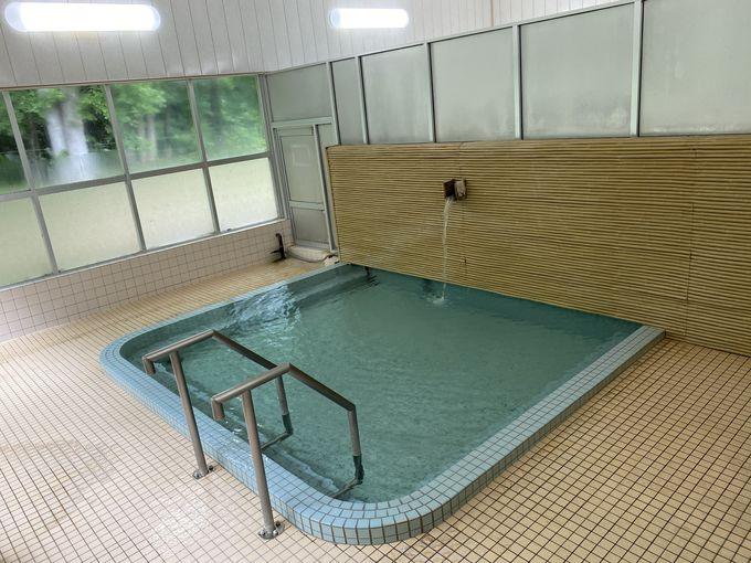 宿泊者専用温泉でお湯の魅力を感じよう