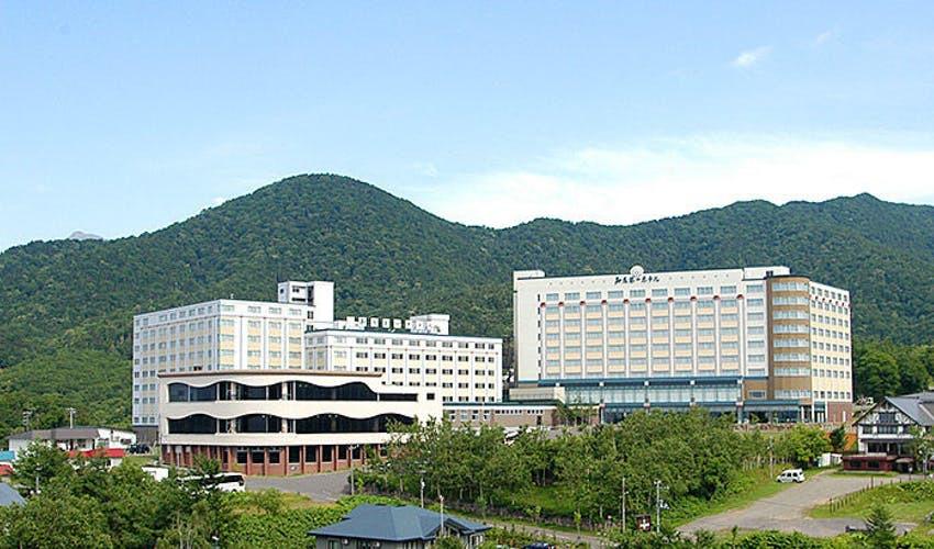 知床第一ホテルは眺めの良い高台に!
