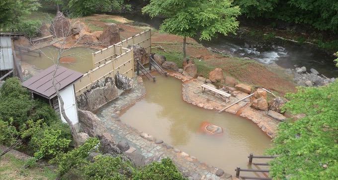 泉質の違う大露天風呂と大浴場!