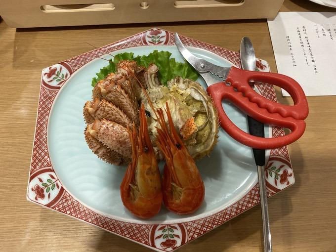 オホーツクの新鮮食材のお料理!