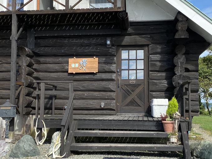 宿房 樺のんは三角屋根のログハウス!