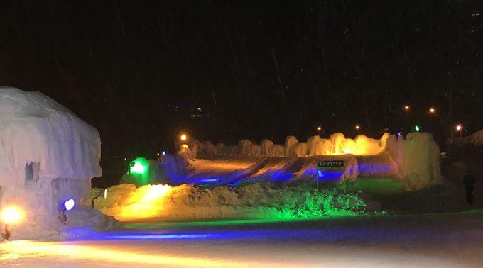 冬遊び体験や北の氷酒場も楽しめる氷瀑まつり!