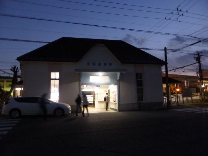 温かみを感じる、「琴電屋島駅」