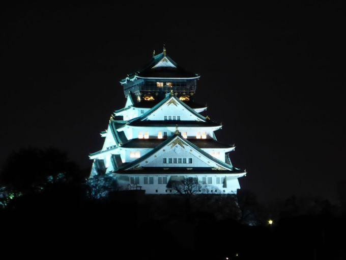 周辺から大阪城を見るなら「片町橋北詰」がお勧め!