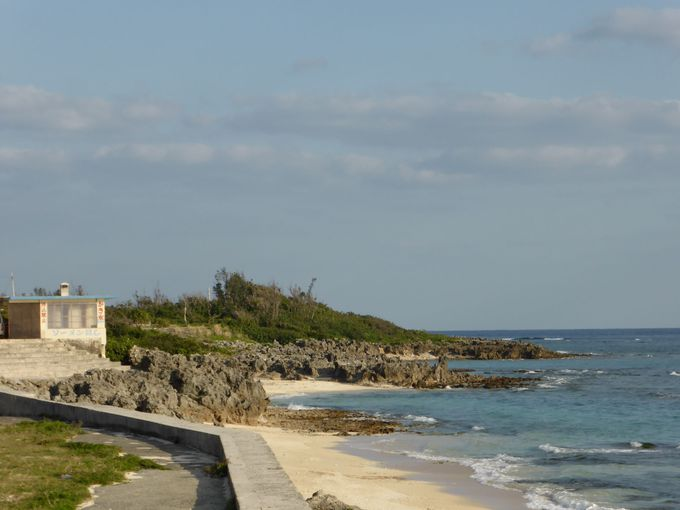 皇族の方の御清遊の地、「屋子母(やこも)海岸」