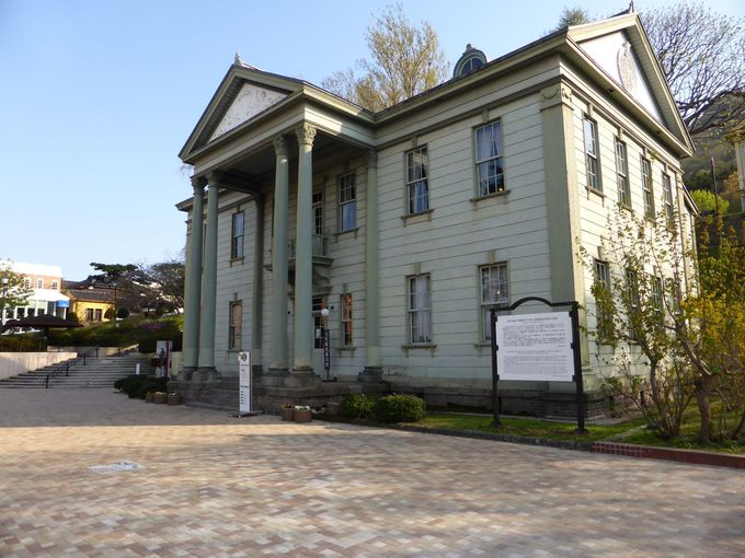 北海道有形文化財に指定の「旧北海道庁函館支庁庁舎」