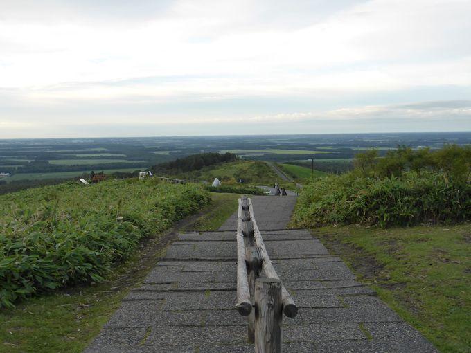 「開陽台」からの景色。心に残るのは大きな感動