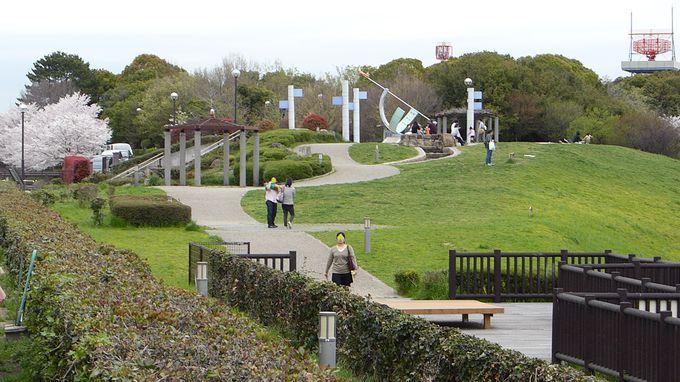 エアフロントオアシス下河原&下河原緑地は2つの公園が一体化
