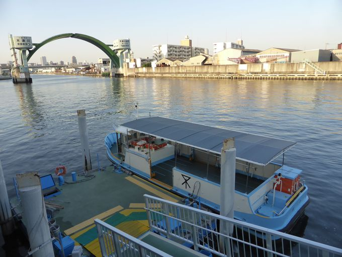 航路の確保「アーチ型水門」