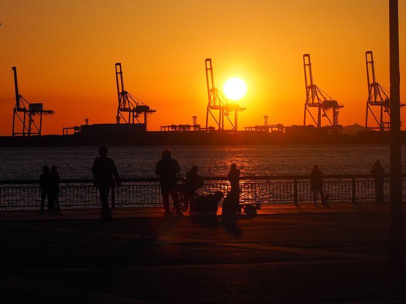 築港・天保山地区〜大阪港の小さな宝島で潮風と太陽と散歩〜