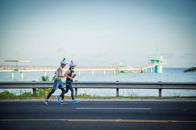 レース当日:美しい自然の中を走り抜けよう!